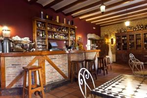 Salon ou bar de l'établissement Hotel Convento San Roque