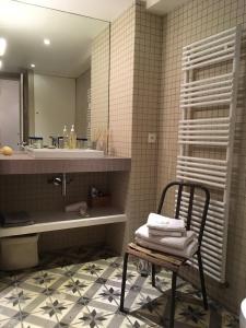 Salle de bains dans l'établissement Chambre d'Hôtes Annelets