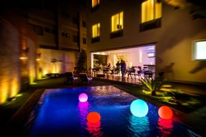 The swimming pool at or near Elements Hotel Boutique