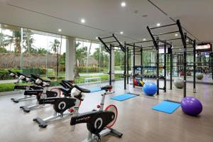 Gimnasio o instalaciones de fitness de TRS Turquesa Hotel - Adults Only - All Inclusive