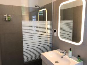 Een badkamer bij Casa Tulia - Curaçao