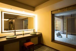 A bathroom at Hotel Keihan Kyoto Grande