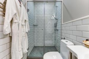 A bathroom at Velvet