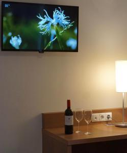 TV/Unterhaltungsangebot in der Unterkunft Hotel Weingut Rosenhof