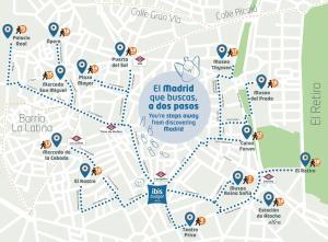 Vue panoramique sur l'établissement Ibis Budget Madrid Centro Lavapies