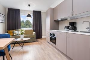 Una cocina o zona de cocina en Frogner House Apartments- Lagårdsveien 61