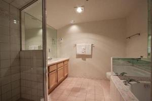 A bathroom at Powder's Edge by Elevate Vacations