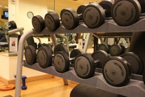 Gimnàs o zona de fitness de Hotel Villamadrid