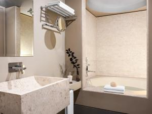 A bathroom at Grecotel Astir Alexandroupolis