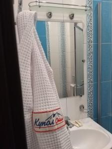 A bathroom at Kupol