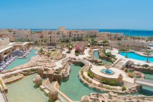 Blick auf Kempinski Hotel Soma Bay aus der Vogelperspektive
