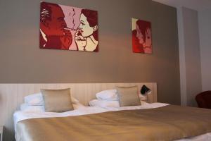 Кровать или кровати в номере 1.Republic Hotel