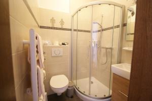 Ein Badezimmer in der Unterkunft Margarethenhof