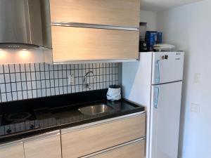 A kitchen or kitchenette at Ondina Apart