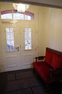 A seating area at Villa Friedenstraße 11