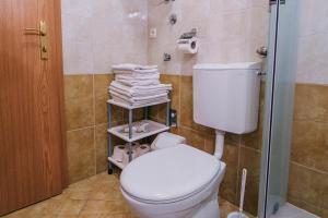Koupelna v ubytování Apartments Dea Baška Voda