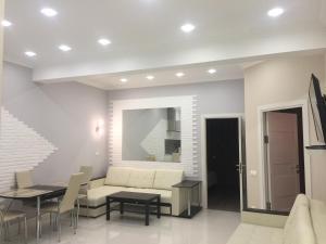 Гостиная зона в Apartamenty v Akvatorii