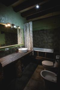Un baño de Casa Rural Therma Agreste