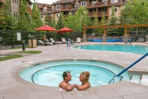 The swimming pool at or near Stoneridge Mountain Resort by CLIQUE