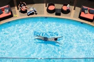 The swimming pool at or near Rydges Gladstone