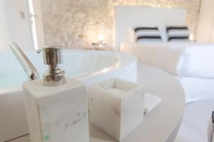 A bathroom at Hotel Villa Fanny