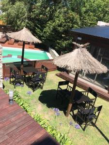 A view of the pool at Complejo Ayenué & Spa or nearby