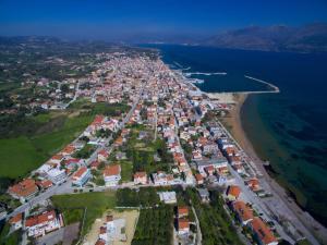 Vista aerea di Vinieris Villas - Rea's Luxury Apartment