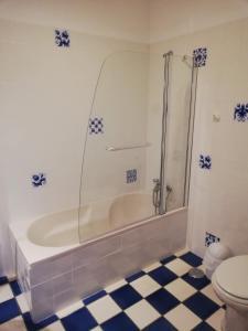 Salle de bains dans l'établissement Quinta Dos Ribeiros