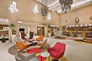 The lounge or bar area at Park Mall Hotel & Conference Center