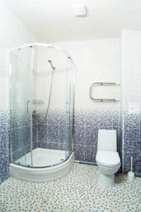 A bathroom at Гостиница Центральная