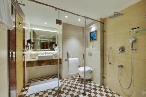 A bathroom at The Fern Residency Jaipur