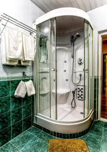 A bathroom at Hotel Olesya