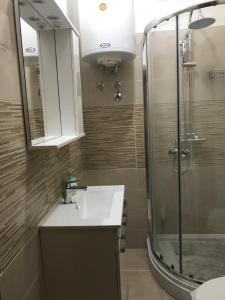Kupaonica u objektu Guest House Tea