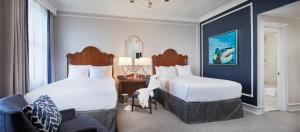 A bed or beds in a room at Peabody Memphis