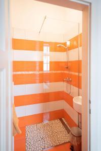 Ein Badezimmer in der Unterkunft Fluxus Hostel
