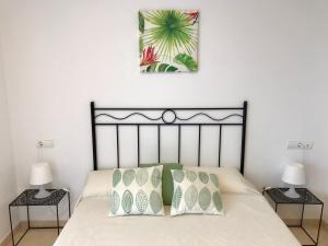 Cama o camas de una habitación en Vera Puerto Rey