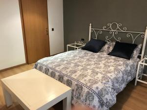 Cama o camas de una habitación en Casa en el Priorat