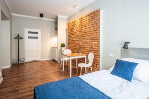 Łóżko lub łóżka w pokoju w obiekcie Flaminio Smart Sleep