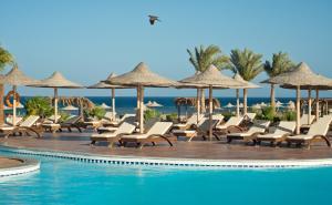 Het zwembad bij of vlak bij Shams Alam Beach Resort