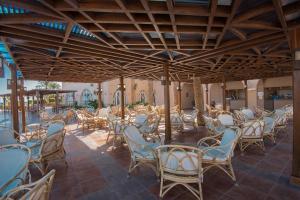Een restaurant of ander eetgelegenheid bij Shams Alam Beach Resort