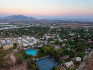 A bird's-eye view of Holiday Village Kibbutz Mizra