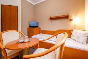 Гостиная зона в Hotel Jitřenka