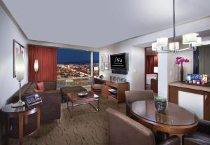 A seating area at ARIA Resort & Casino
