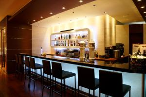 The lounge or bar area at Mercure Hotel Sapporo