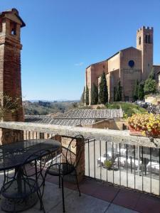 A balcony or terrace at Albergo Bernini