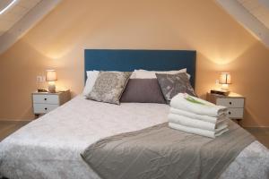 Letto o letti in una camera di Vinieris Villas - Lagoon Diamond Loft