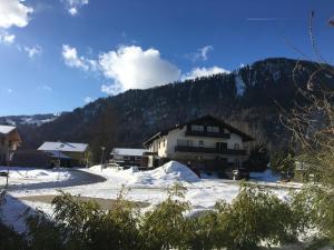Gästewohnung zum Atelier im Winter