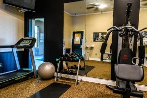 The fitness center and/or fitness facilities at Hearthstone Inn Sydney