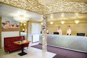 Лобби или стойка регистрации в Sunflower Авеню Отель Москва