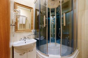Ванная комната в Sunflower Авеню Отель Москва